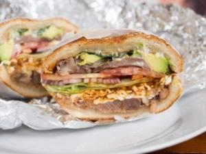ساندویج زبان به روش مکزیکی