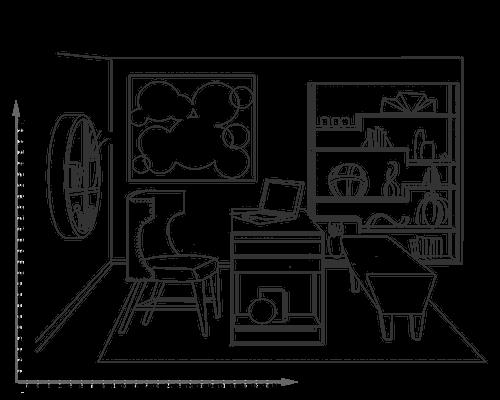 طراحی و اجرای دکوراسیون فست فود