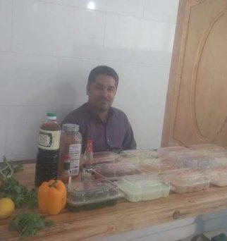 عباس حسینی IRANHFC | راه اندازی فست فود